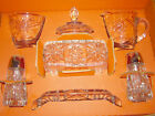Set of Early American Prescut 7 piece set table service