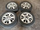 RENAULT LAGUNA SET OF FOUR 16 ALLOY WHEELS AND 205 55 16 TYRES