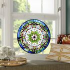 LG Tiffany Style Stained Glass Hanging Window Panel 22