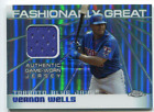2004 Topps Chrome Fashionably Great Relics VW Vernon Wells B Jersey NM MT