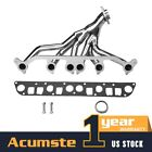 Stainless Manifold Header Exhaust For 1991 1999 Jeep Wrangler Cherokee TJ YJ XJ