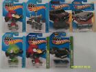 Hot Wheels 164 Lot of 6 TV Movie Cars THE A TEAM BACK TO THE FUTURE ANGRY BIRDS