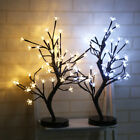 EP 48LED Plum Blossom Bonsai Tree Light Christmas Night Home Party Decor Reliab