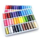 DIY 39PCS Mixed Colors 200 Yard Polyester Sewing Thread Machine Hand Spool New