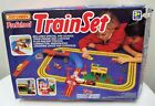 Matchbox PreSchool Train  Town Sets Bright Colored Track Accessories 1990 Used