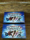 TWO 2013 Cryptozoic DC Comics Women of Legend Sealed Hobby Trading Card Boxes