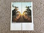 1970s Harley-Davidson. models SXT-125 to SS-250, original sales literature.