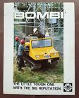 1974 Bombardier Bombi All Terrain Vehicle Dealers Sales Brochure Catalog