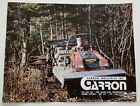1970's Garron Industries Raidtrac ATV Dealers Sales Brochure Catalog