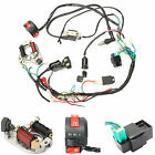 50cc 70cc 90cc 110cc CDI Wire Harnes Assembly Wiring Kit ATV Electric Start QUAD
