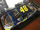 2008 Jimmie Johnson WHITE GOLD JJ Foundation Lowes ELITE car 1 of 50