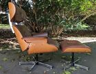 """""""Herman Miller Eames Style"""" Lounge Chair And Ottoman"""