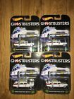 Hot Wheels Retro Entertainment Ghostbusters Ecto 1 lot of 4 NEW