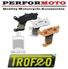 Pair Of Trofeo Organic Front Brake Pads Ducati XL350 82>