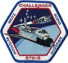 NASA SPACE SHUTTLE STS 6 MISSION PATCH