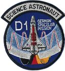 NASA SPACE SHUTTLE STS 61A MISSION SCIENCE ASTRONAUT D1 GERMAN SPACELAB MI PATCH