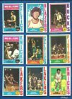 1974-75 Topps Basketball lot of 160 diff cards Walton RC Robertson Havlicek