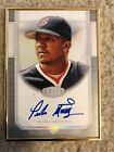 2017 Topps Transcendent Pedro Martinez Photo Variation Auto 13 15