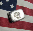 1 Tr Oz .999 Silver Bar, Hand Poured Bullion VPM Center Stamp  B22v