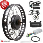26 1000W 48V Electric Bike Fat Tire Rear Wheel Bicycle Conversion Kit Hub Motor