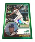 2018 Topps Series 2 Wil Myers 1983 Green Chrome Silver Packs 33/99 Padres