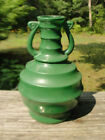 Unusual Green Fired on Color Mid Century 6