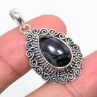 """Picasso Jasper 925 Sterling Silver Vintaage Style Pendant 1.46""""(15)_IV"""