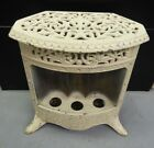 Antique Cast Iron Heater Base GE? Numbered  2842 Very Ornate Steampunk Decor