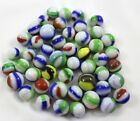 Group of 49 Marble King Rainbow Marbles 19/32 - 3/4 Near Mint