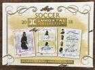 2018 Leaf Immortals Soccer Factory Sealed Hobby Box