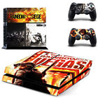 Rainbow six Skin Sticker Sony Playtation4  console+controllers Protect Cover Set