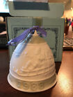 Collectible Lladro 1988 Christmas Bell Matte Finish with Box and Ribbon