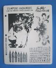 Tim Holtz ARTFUL ARTIFACTS Cling Rubber Stamps Stampers Anonymous PEN NIB CMS080