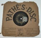 Harry Lauder - Robroy Mc Intosh. / Fu 'Th Noo' Pathe 60293 Schellackplatte 8""