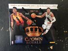 2017 18 Panini Crown Royale Basketball Factory Sealed Hobby Box NEW