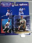 1998 Barry Larkin Cincinnati Reds Starting Lineup in pkg w/ Baseball Card