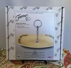 Fiestaware Ivory Christmas Tree Handled Serving Tray Fiesta Holiday One Tier