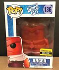 FUNKO POP PIXAR INSIDE OUT ANGER ENTERTAINMENT EARTH EXCLUSIVE