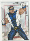 2012 Marvel Greatest Heroes The Avengers Sketch Card by Jason Sobol 1 1