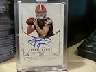 Panini Flawless Silver Rookie Autograph Browns Auto Johnny Manziel 14 25 2014