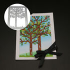 EP Card Scrapbook Tool Embossing Stencil Craft Framed Tree Pattern Cutting Die