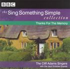 Cliff Adams Sing Something Simple Collection Thanks for the Memory CD LIKE NEW
