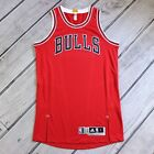 Authentic Chicago Bulls Team Issued Large Jersey 2014 Adidas Blank AZB012