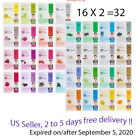 Dermal Korea Collagen Essence Full Face Facial Mask Sheet 16,32 EA multi option