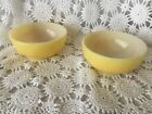 Fire King Ovenware Yellow Soup Bowl Vintage Pair Glass Vintage