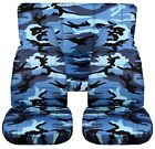 Fits 97 02 Jeep Wrangler TJ car seat covers CAMOUFLAGE DESIGN