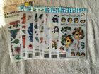 E Z Rub On Transfers Lot of 8 packages Variety New
