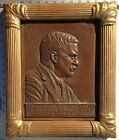 JAMES EARLE FRASER BASS RELIEF OF THEODORE ROOSEVELT PORTRAIT 1920 MEMORIAL