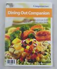 Weight Watchers Dining Out Companion Book Points and Core List 2005