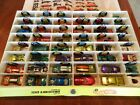 Vintage Hot Wheels Redlines Lotwith case and 1970 annual included 48 cars